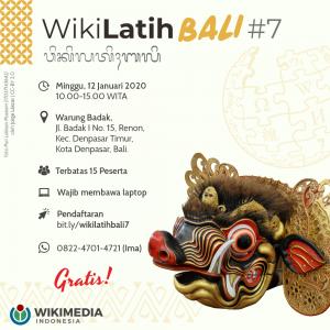 WikiLatih Bali#7 @ Warung Badak
