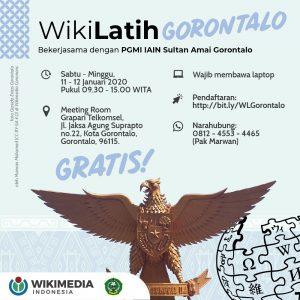 WikiLatih Gorontalo @ Aula Grapari Telkomsel Gorontalo