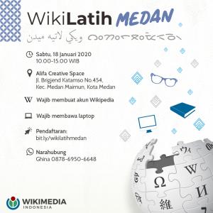 WikiLatih Medan @ Alifa Creative Space