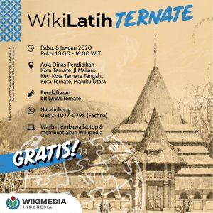 WikiLatih Ternate @ Dinas Pendidikan Kota Ternate