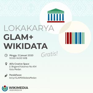 Lokakarya GLAM+Wikidata Medan @ Alifa Creative Space