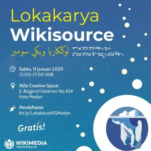 Lokakarya Wikisource Medan @ Alifa Creative Space