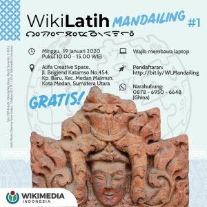 WikiLatih Mandailing#1 @ Alifa Creative Space
